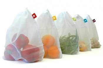 I A Lot Of Fruit And Vegetables All Those Clear Plastic Bags Go Straight In The Trash Reusing Them Would Be Good Idea Except For Some Reason It
